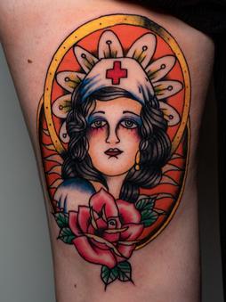 Rocky - Traditional - Ink Panthers Echt Tattooshop Limburg Tattoo