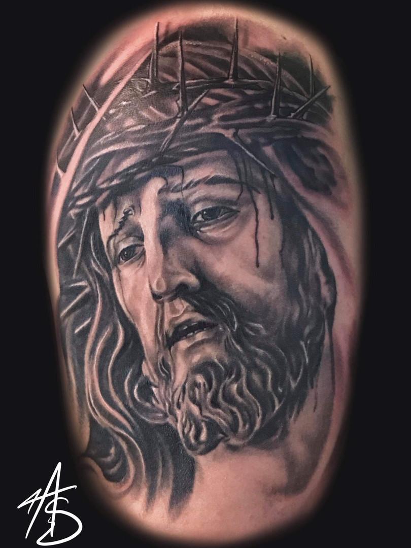 Artur Stec - Jezus Ink Panthers Echt Tattooshop Limburg Tattoo