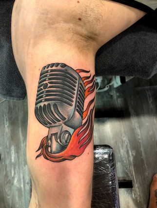 Tattoo by Frankie