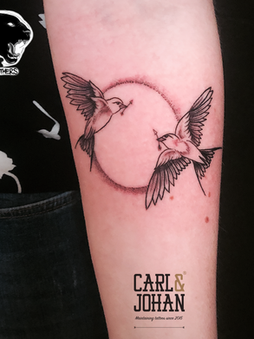 Rocky - Swallows Ink Panthers Echt Tattooshop Limburg Tattoo