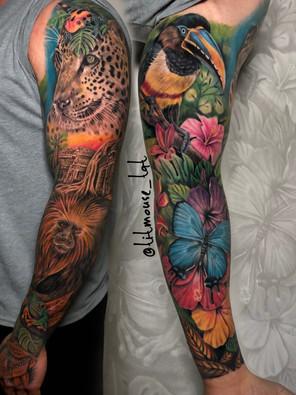 Jennifer / Titmouse - creative realisme - healed color sleeve