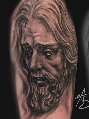 Artur Stec - jesus Ink Panthers Echt Tattooshop Limburg Tattoo