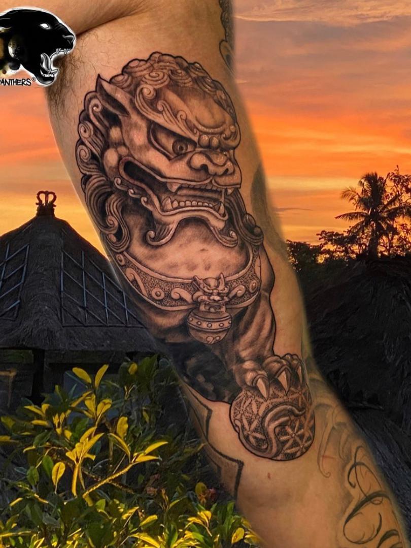 Ivan - Buddah tattoo Ink Panthers Echt Tattooshop Limburg Tattoo