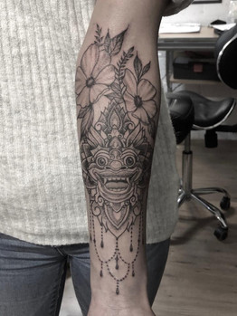 Ivan - combined styles Ink Panthers Echt Tattooshop Limburg Tattoo
