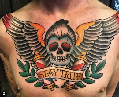 Traditional Tattoo by Don