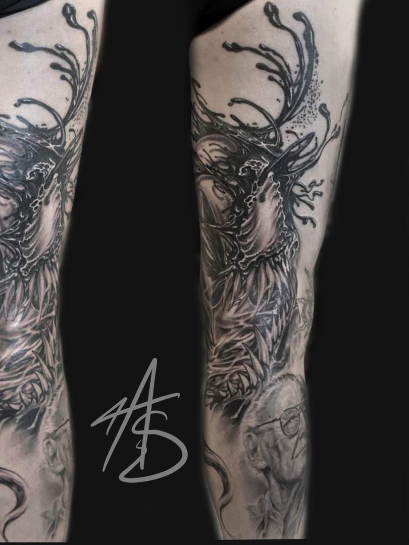 Artur Stec - Venom Ink Panthers Echt Tattooshop Limburg Tattoo