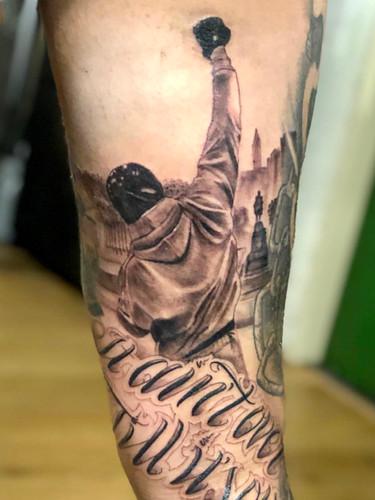 Ivan - Rocky tattoo Ink Panthers Echt Tattooshop Limburg Tattoo