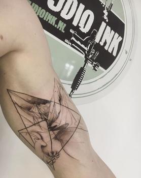 Tattoo by Floor