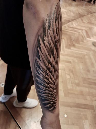 Artur Stec - wing Ink Panthers Echt Tattooshop Limburg Tattoo