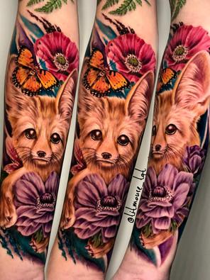 Jennifer / Titmouse - creative realisme - fenik fox