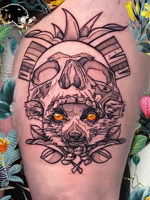 Quincy / Kwills - madagascar tattoo tattoo Ink Panthers Echt Tattooshop Limburg Tattoo