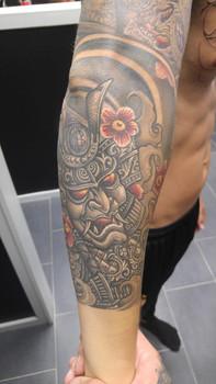 Tattoo by Gino
