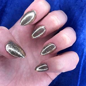 Acrylic Glitter Nails