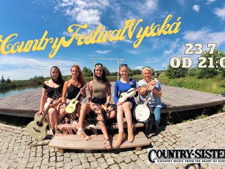 Special show at Country Festival Vysoká