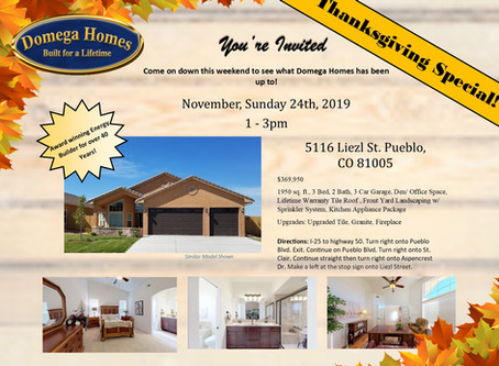 New Construction Open House Event!