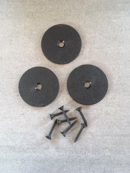 Kontrastmarkering 50mm - försänkt i trä