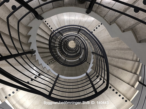 Kontrastmarkering trappa & svepytor inomhus