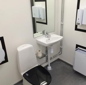 Kontrastmarkering WC