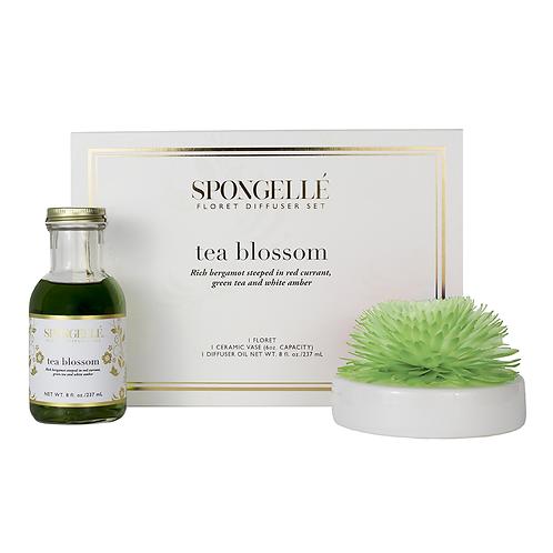 Spongelle Tea Blossom Floret Diffuser Set