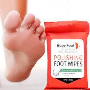 Baby Foot Exfoliation Peel Polishing Wipes