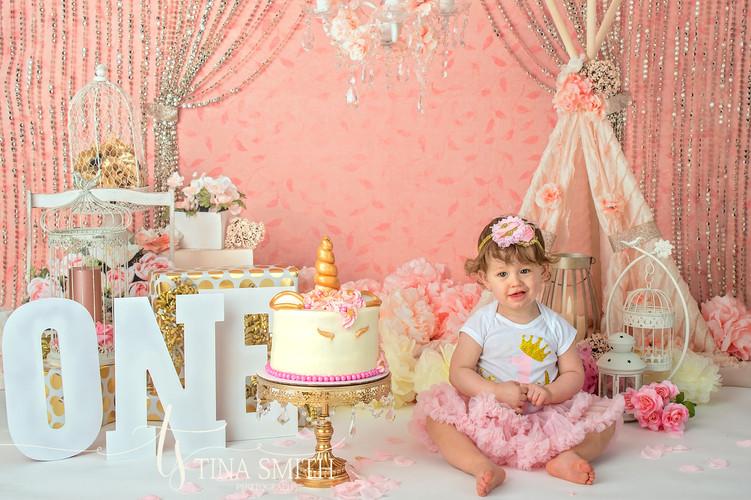 niceville studio childrens photography cake smash