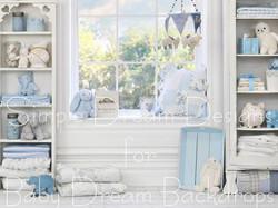 blue nursery 80x60