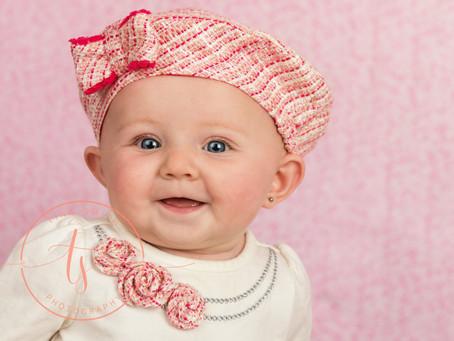 Princess E 6 month sitter session