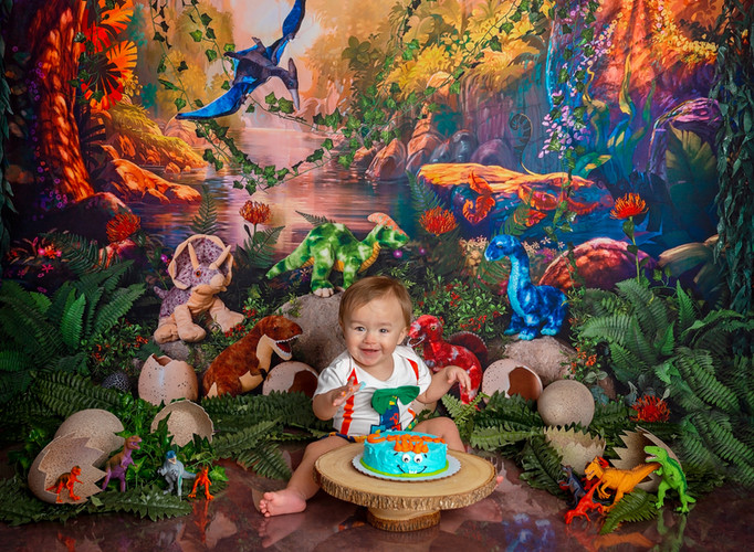 santa rosa beach studio childrens photography cake smash