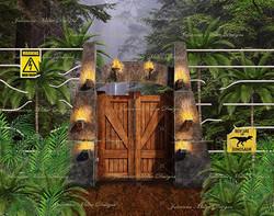 Jurassic Gates 8x6