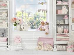 Pink Nursery 80x60