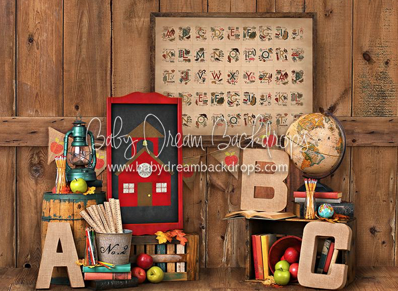 Alphabet School 8x6