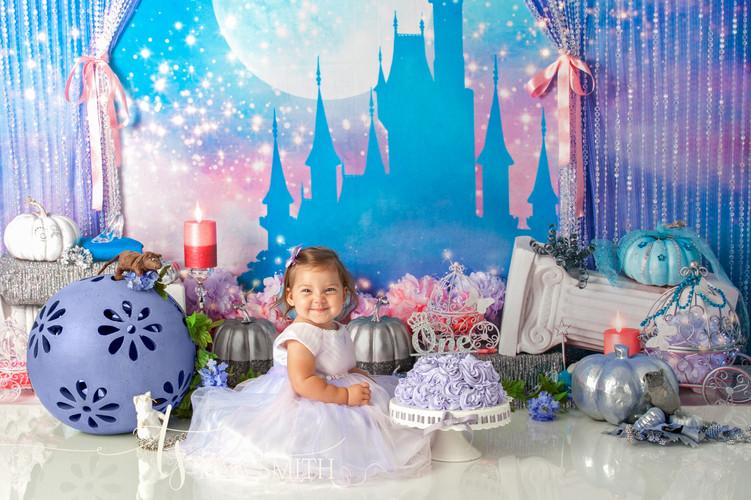 crestview childrens photographer cake smash