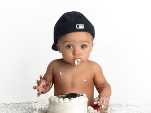 crestview photographer 1 year cake smash