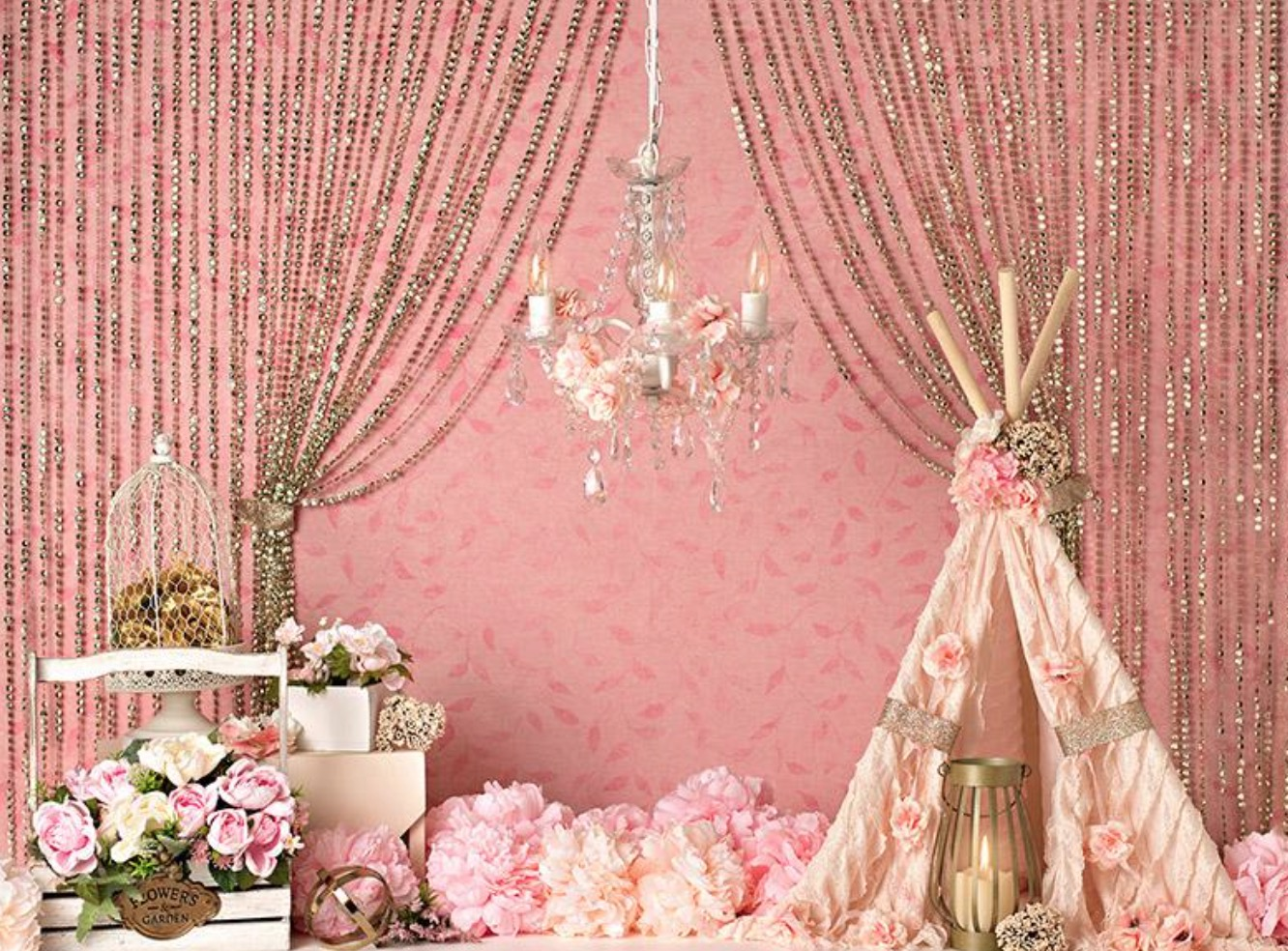 Blush Crush Decor - 60Hx80W