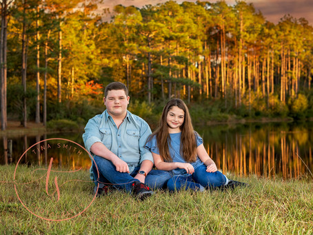 Defuniak Springs Outside Studio Photography