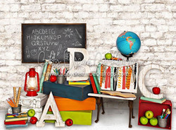 Color in Class Chalkboard - 6x8