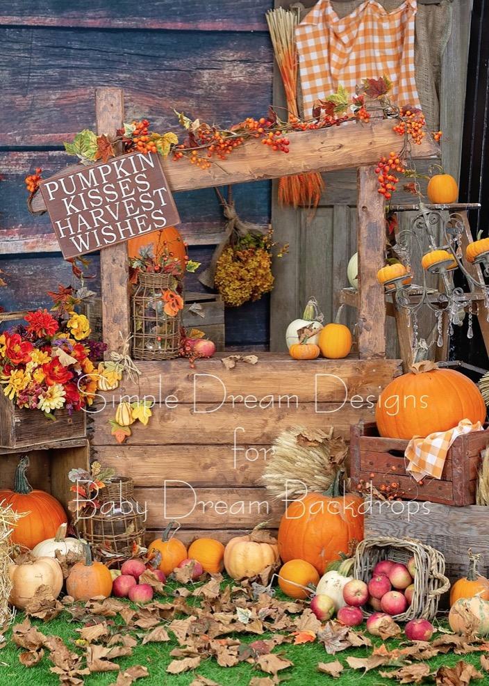 Pumpkin Corner 80x60
