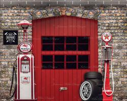 Mikeys Car Garage 8x6