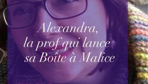 Alexandra, la prof qui lance sa boîte à malice