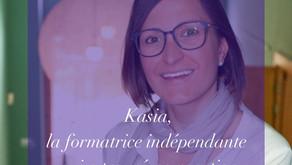 Kasia, la formatrice indépendante qui a trouvé sa vocation