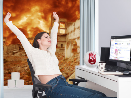 Working from home during the apocalypse