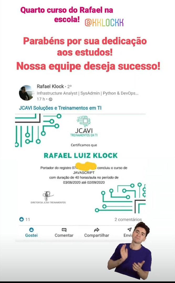 Aluno Rafael