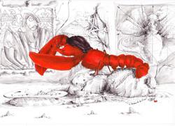 Le homard de vinci