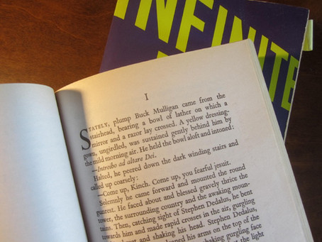 Punctuation Fun with 'Ulysses' and 'Infinite Jest'
