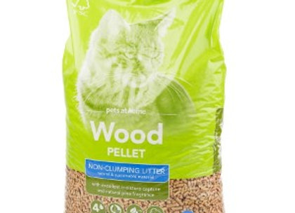 Wood Pellet Non Clumping Cat Litter 30L