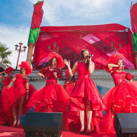 Nikki Beach Marbella Red Party