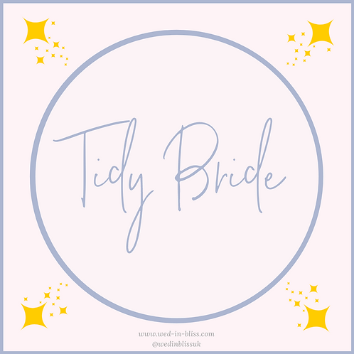 The Tidy Bride Payment Plan