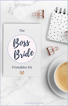 OFFICIAL - Wedding Planner Printables (1