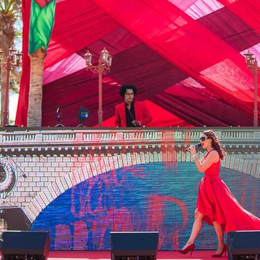Nikki Beach Marbella Red Party