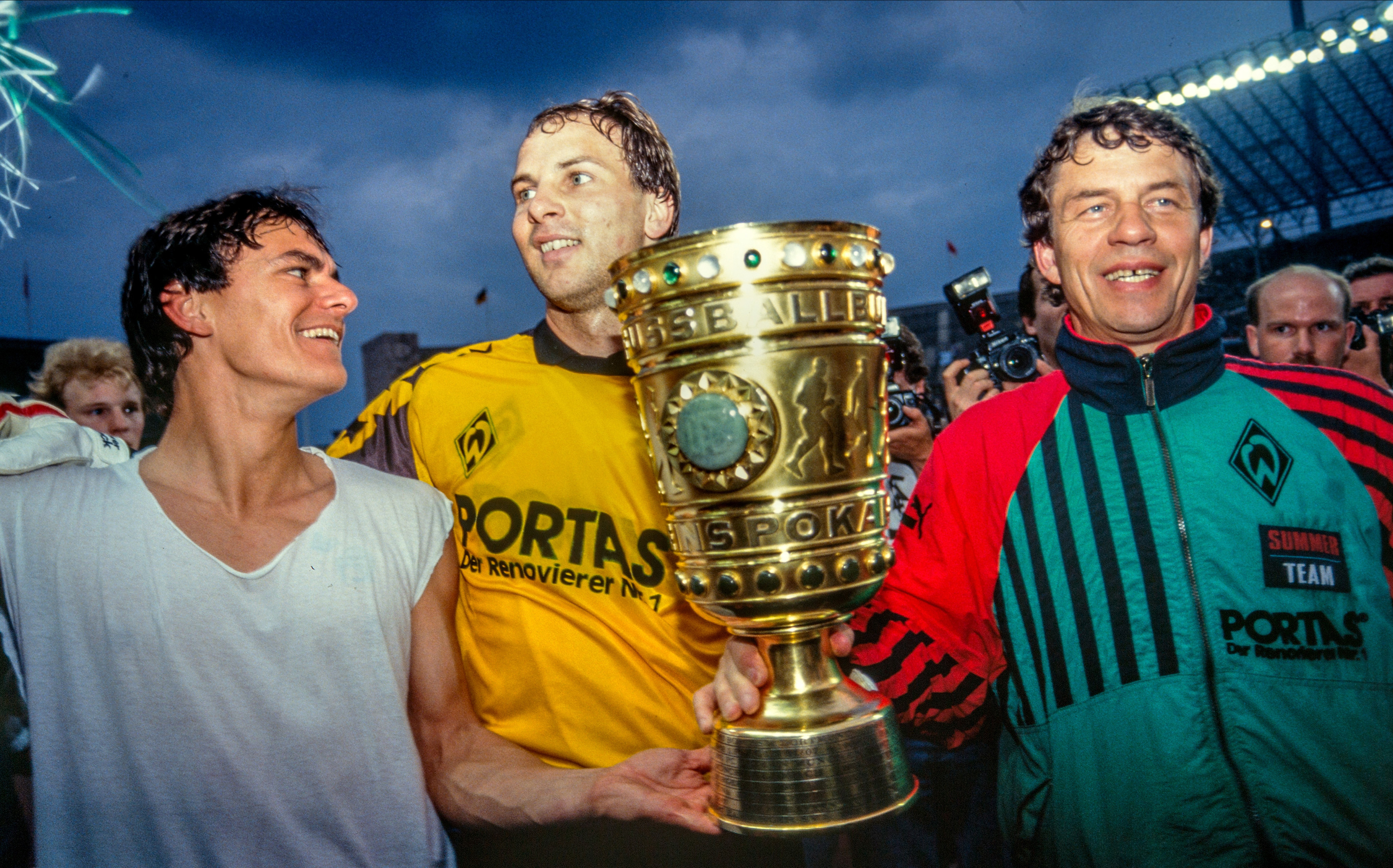 German Cup 1991 and 1994